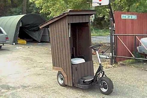 vozilo za preseravanje